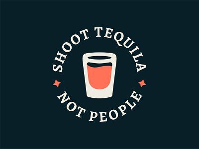 Pandemic Drinking pt. 1 pandemic dark humor tequila minimal illustration logo design icon design logo drinks booze alcohol vector