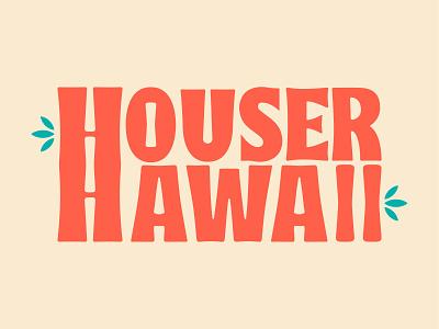 Family Trip Logo Fun logo design illustration minimal design vector logotype logo typography logo surf maui aloha family hawaiian typography hawaii