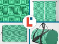 Optical green squares