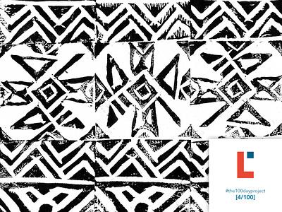 [4/100] Mayan pattern textilepattern tribal mayan surfacepattern staycreative patternoftheday the100dayproject2019 the100dayproject 100dayproject2019 100dayproject 100dayofpattern