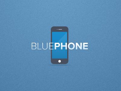 Bluephone logo blue iphone logo