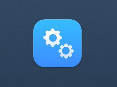 settings app app settings blue sketchapp