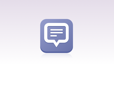 texting icon icon sketchapp