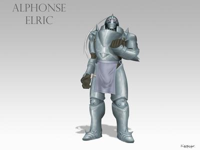 Alphonse Elric fanart
