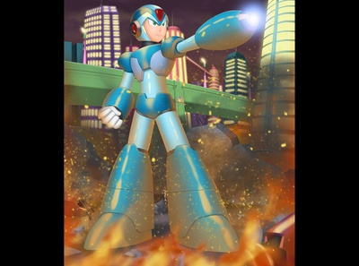 Mega Man X fanart