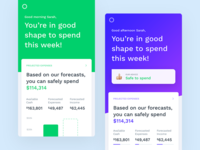 Financial Web App