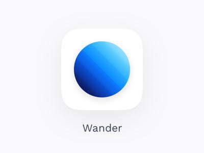 Wander App Icon