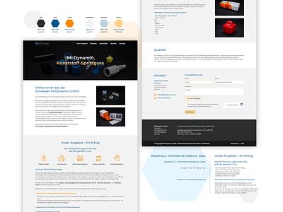 McDynamic   Web Design website web branding icon vector graphic design design