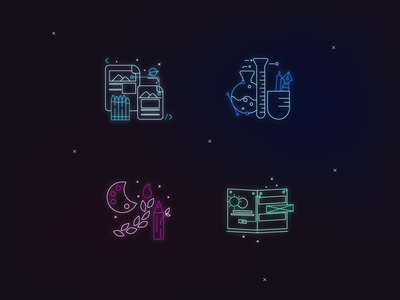 Icons - Personal Brand (2021) branding icon vector illustration graphic design design
