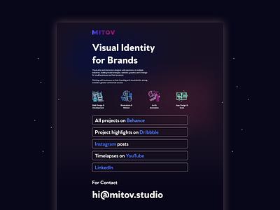 Landing Page - Personal Brand (2021) website ui web branding vector graphic design design