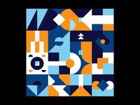 Patterns, Colours & Shapes #7