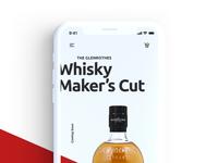 iPhoneX Whisky App