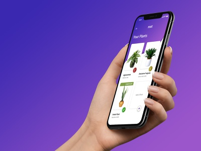 Plant Care Mobile App cards interface ui  ux design ui iphonex iphone mobileapp mobile