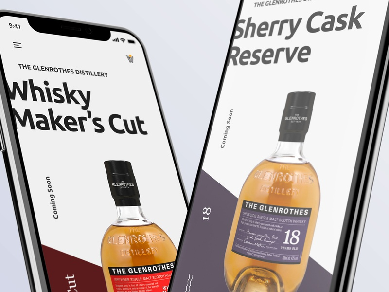 Exploration for Mobile App mobile typography flat brand ui interface ecommerce iphonex iphone mobileproduct mobileapp