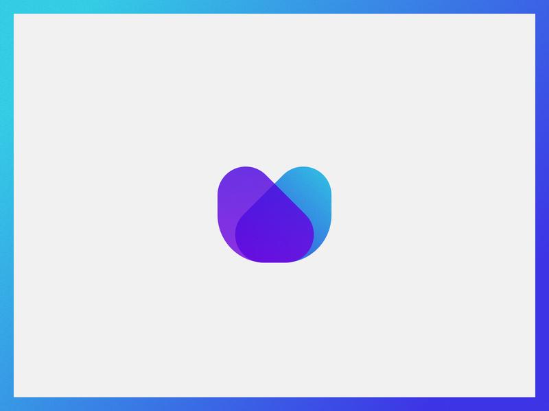 Letter Logo - U flat design logomark icon vector identity branding brand logodesign logo
