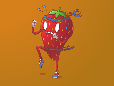 Muay Thai Strawberry