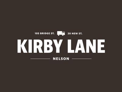 Kirby Lane branding