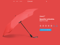 Experiments with color-on-color product homepage