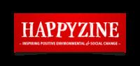 Happyzine logo redesign