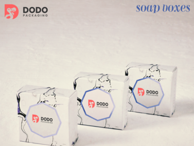 Custom Soap Boxes Packaging with Complete New Design