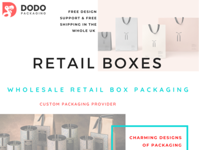 Retail Packaging Boxes | Cheap Retail Packaging | Dodo Packaging