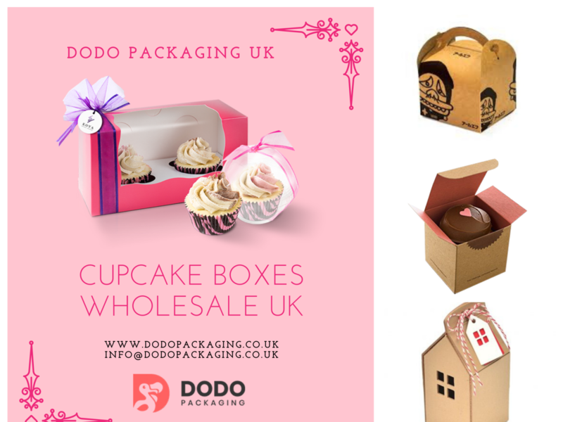 Cupcake Boxes Wholesale | Bulk Cupcake Packaging