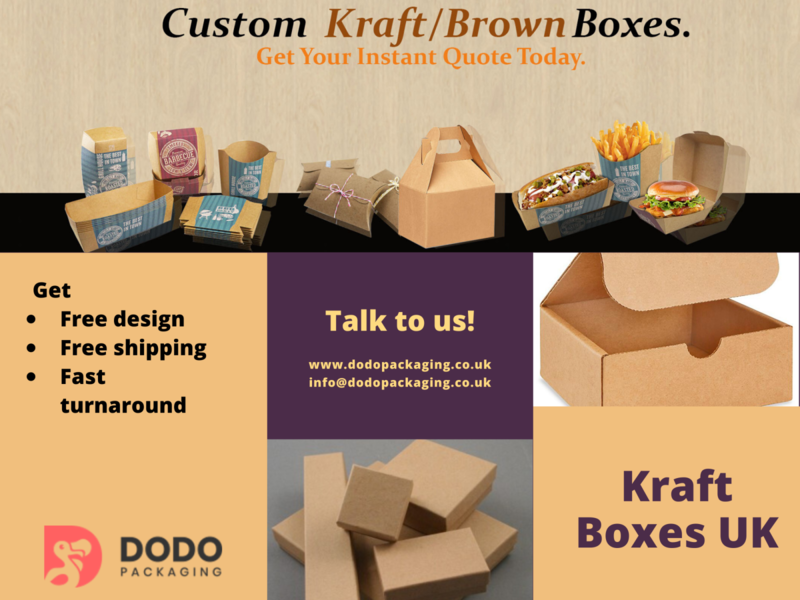 Kraft Boxes Wholesale | Kraft Packaging UK