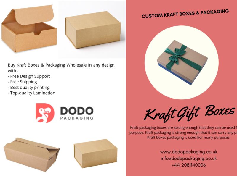 Kraft Boxes & Packaging by Dodo Packaging UK