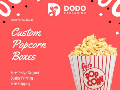 Custom Popcorn Boxes - Popcorn Boxes Wholesale UK