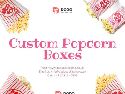 Buy Popcorn Boxes Wholesale in UK