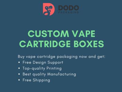 Buy Vape Cartridge Boxes & Packaging Wholesale