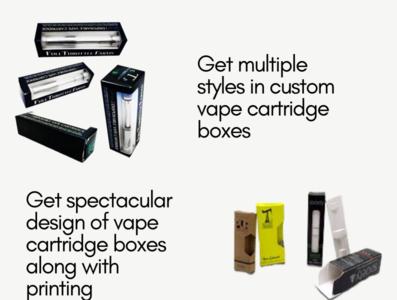 Custom Printed Vape Cartridge Boxes | Custom Vape Cartridge Boxe