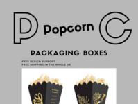 Buy Thunderous Quality Custom Popcorn Boxes In Wholesale Rates!