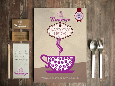 cafe restaurant menu design falmengo 1peter krchlik - dribbble