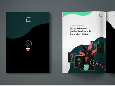 Book: Essentials Hiring editorial design editorial art ebooks ebook first green window robot plant illustration cover book cover design illustration editorial abstract typography illustrations book vector character