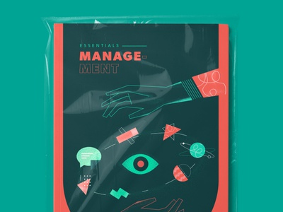 Cover book geometric design eye management illustration galaxy cosmo hands vector editorial art editorial illustration cover book cover design book arts editorial design magazine editorial