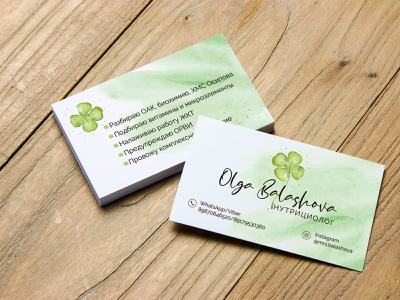 Business card logo vector typography design branding