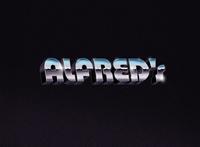ALFRED'S Chrome Logo