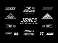 Jones Motocycle Co. Visual Elements