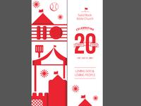 20th Year Celebration Bookmark