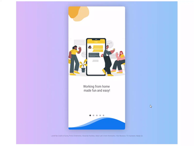 UI Animation | Meeting app lottiefiles lottie animation illustration artwork design beautiful art ui design ui ux ui interaction ui interaction animation