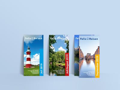 Felix-Reisen Print Flyer flyer design flyer traveling travel print design print corporate design design branding design branding