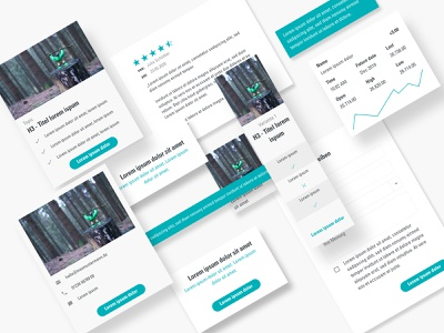 NEULAND. UI style guide grid layout grid style guides style guide user interface design user experience components interface interfacedesign ui components ui elements screendesign ui ux user interface webdesign design adobexd
