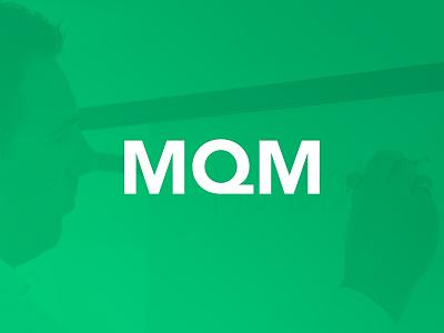 MQM logo design branding design corporate webdesign corporate design vector logo design branding