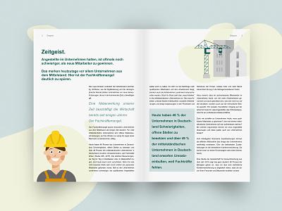 DKV - bKV Whitepaper design typography vector illustration brochure design brochure print design print corporate design branding