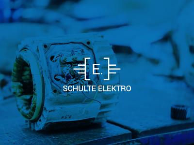 E.Schulte Elektro Corporate Design landingpage homepage photo webdesign branding design photography corporate design design branding