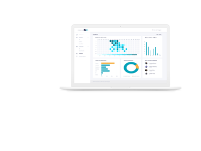 Checkin - Visitor Management System ui ux dashboard ui
