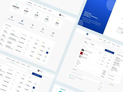 E-commerce Dashboard for Merchants ui ux design