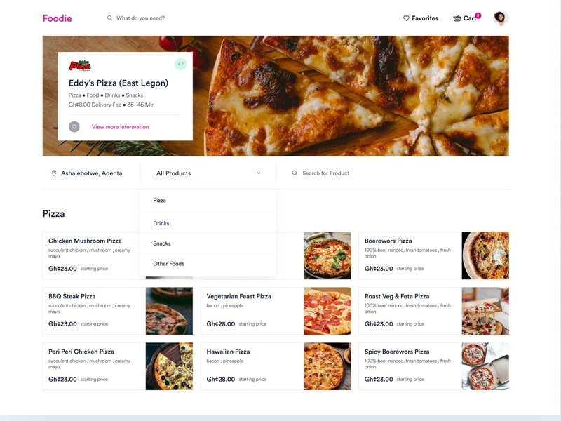 Foodie - Food Delivery Website