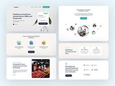 Healthcare Website healthweb health digitalhealth healthcare designlayout uxagency designinspiration interactiondesign userinterface uitrends webdesign uiuxdesign designden design ui ux